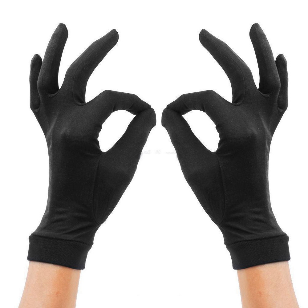 100% Silk Glove Liners Of Thermals Skiing Motorbike Winter Running