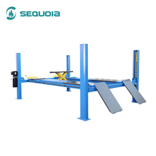 Cheap automatic truck four post hoist car lift