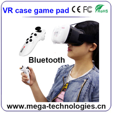 virtual reality VR 3D glasses 3d vr box 2.0 headset google cardboard with remote controller