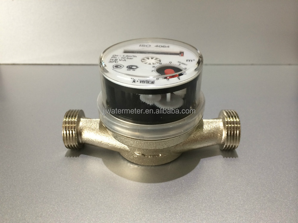 "1/2"" lighter water meter/smart water meter Single-jet Dry type Water Meter"