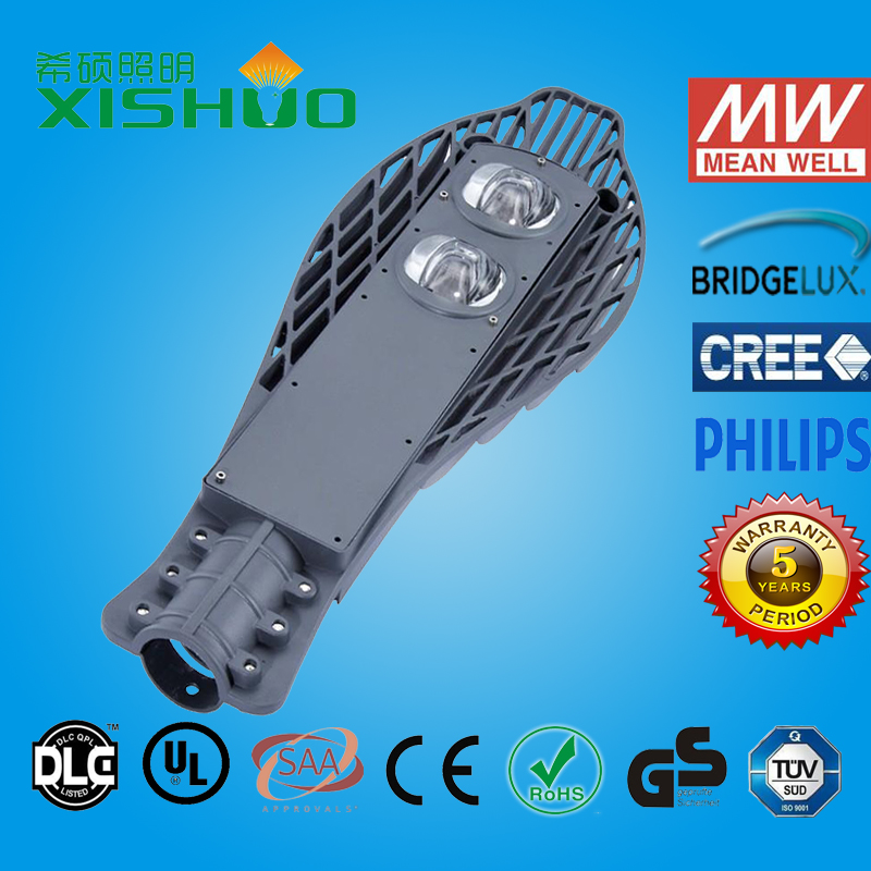2015 hot sale CE ROHS approved 100 watt led street light bajaj led street light Certified by UL