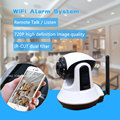 WIFI+GSM / WIFI+WCDMA Home alarm system support video call and night vision alarm system