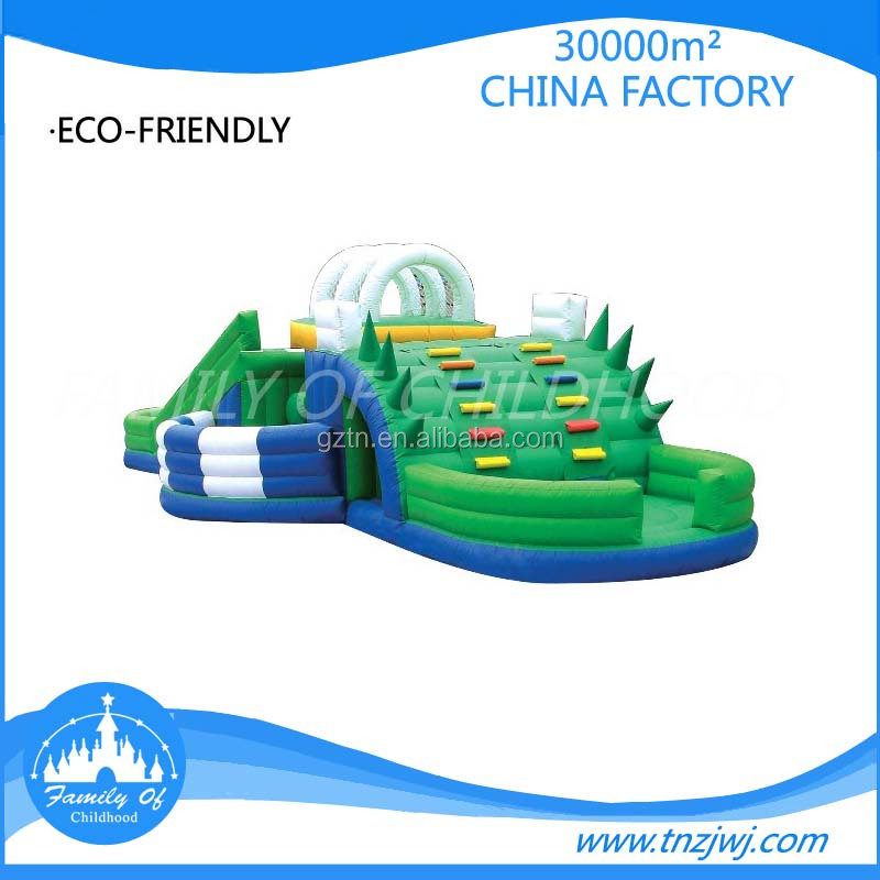 Popular PVC inflatable with slide wholesalers inflatable toy in guangzhou factory
