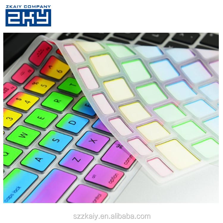 Couverture d'ordinateur portable de silicone