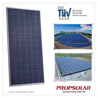 Propsolar SGS,TUV certificate photovoltaic poly solar panel 300W