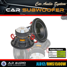 "12"" 1500W RMS Fashions High SPL China subwoofer"