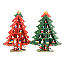 FQ brand home wooden table supplies christmas decoration