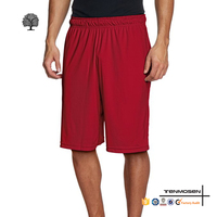 Wholesale gym wear latest mens fashion casual basketball jersey shorts crossfit sweat shorts
