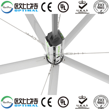 OPT KC Seres 24 ft(7.3m) air cool industrial ceiling fan