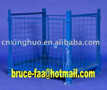 Stacking mesh container/stillage