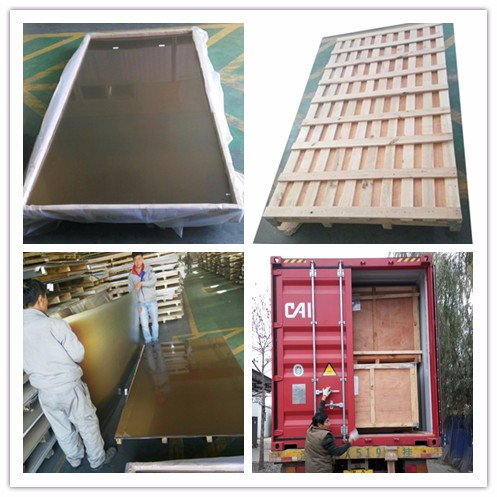 316L No.8 stainless steel coil polishing papery stainless steel panel