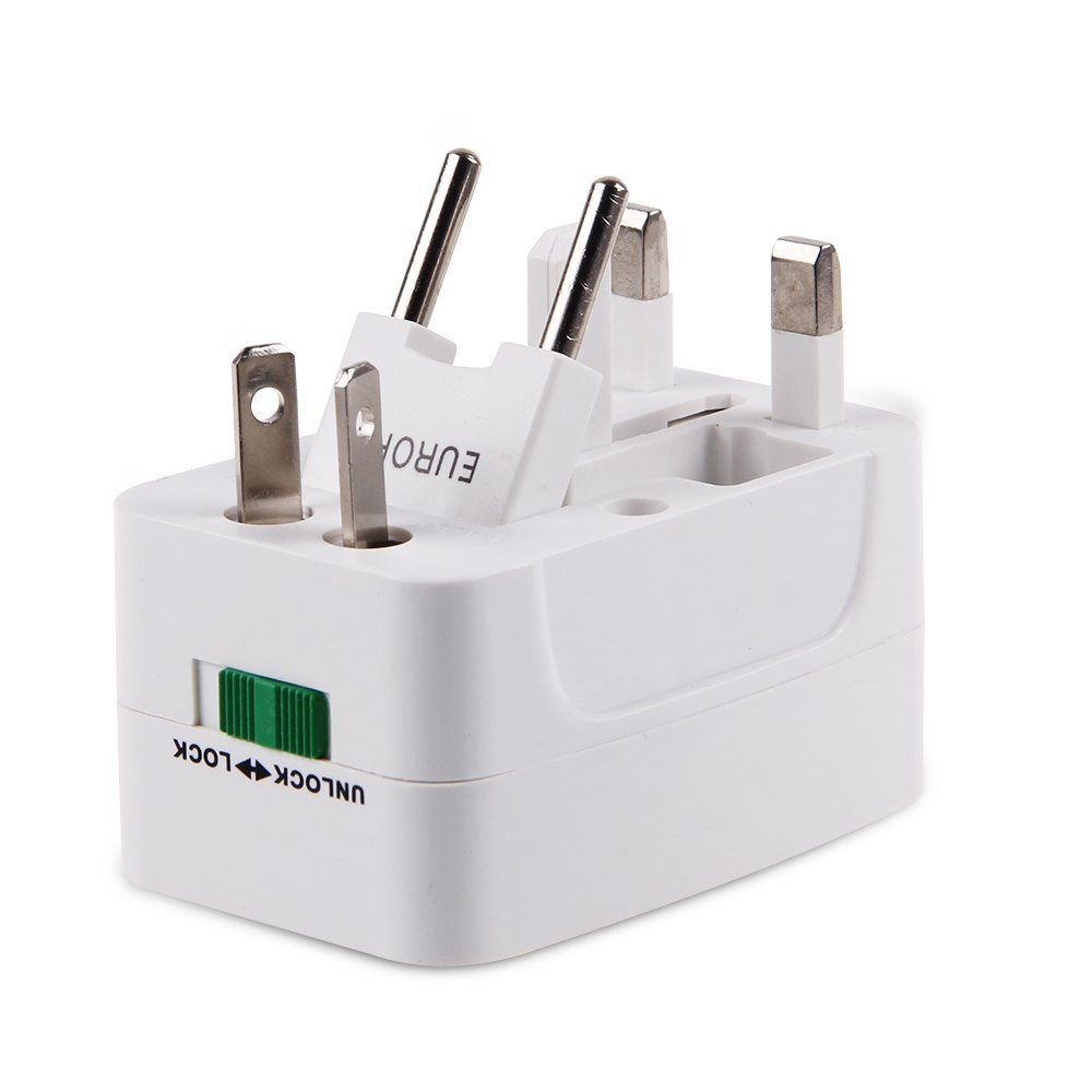 All-in-one Travel Charger AC Power Adapter Converter to US/UK/AU/EU Universal Charger