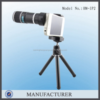 Zoom Mobile Phone Camera with Clear 12x clip Telescope Lens