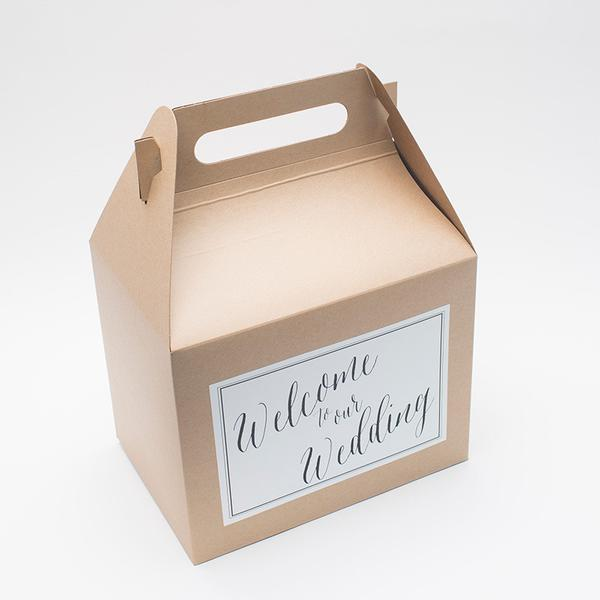 Wedding Gable Gift Boxes