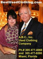 Used Mixed Clothing for Africa, Middle East, Europe and Latin America
