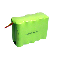 12v 2200mah aa nimh battery pack