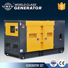 Low rpm 42KVA diesel generator, water cooled chinese engine for hot sale