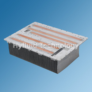 Customize Copper Skive Heatpipe Heat Sinks for MW IGBT Air Cooler