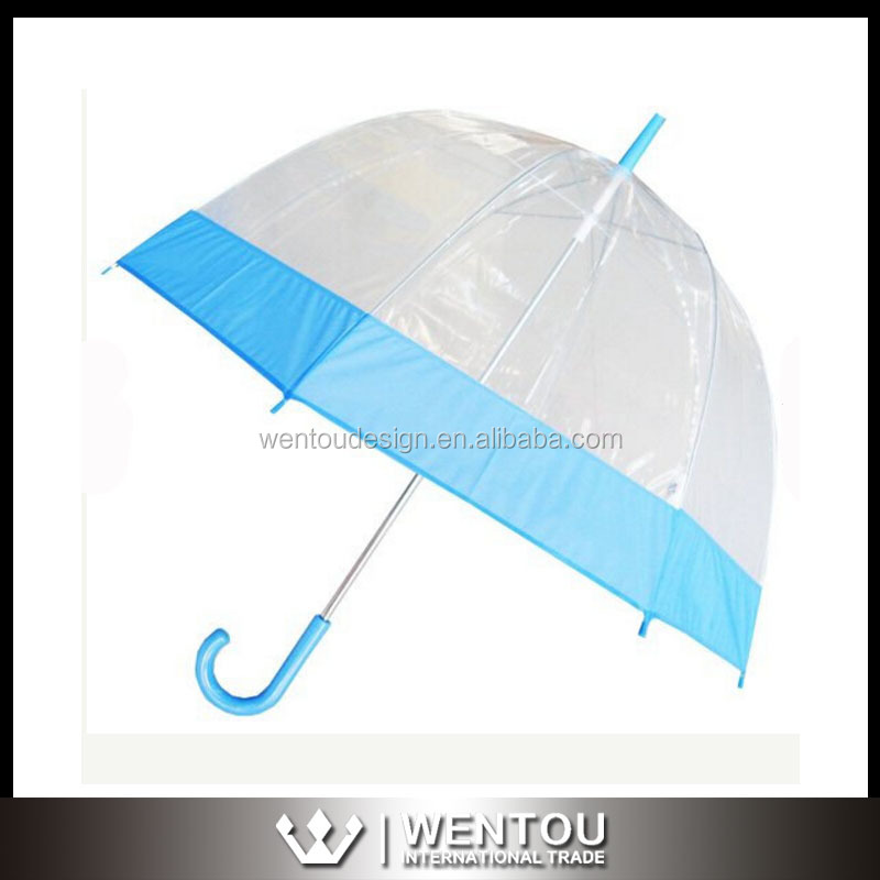 Wholesale New Ladies Clear Bubble Dome Umbrella