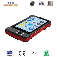 "Corewise portable data collector wireless 7"" Android gprs wifi rugged pocket pc with 1d barcode scanner"