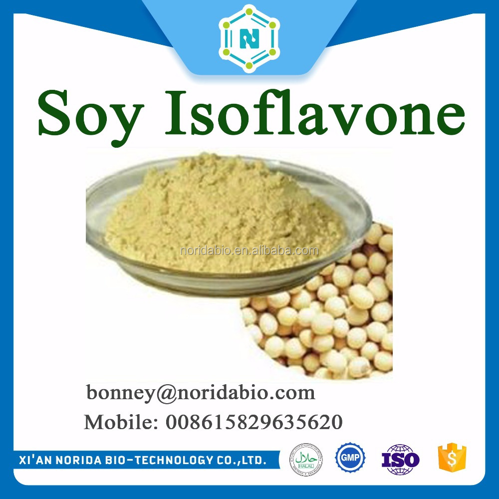 soy isoflavone powder/soybean extract 100% organic soy isoflavone