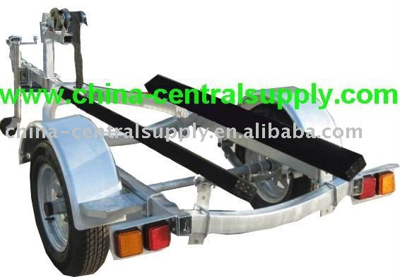 Manufacturer made and sale Galvanised Jet ski Trailer of high quality CT0062D