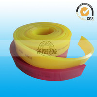 Red Soft 65 Shore A silk screen squeege/Smt squeegee blade/ Printing Machine Parts