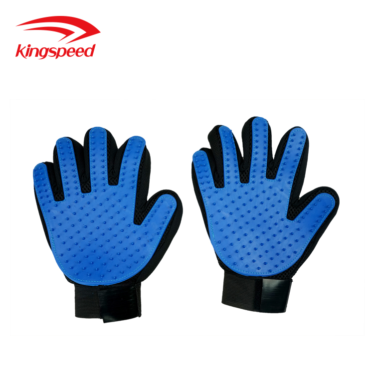 Pet Cleaning Grooming Products Heavy-duty Silicone Gloves Hairs Removal Brushes Combs for Dogs and Cats