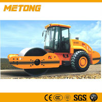Metong 18 ton KS182S fully hydraulic single drum vibratory roller for sale