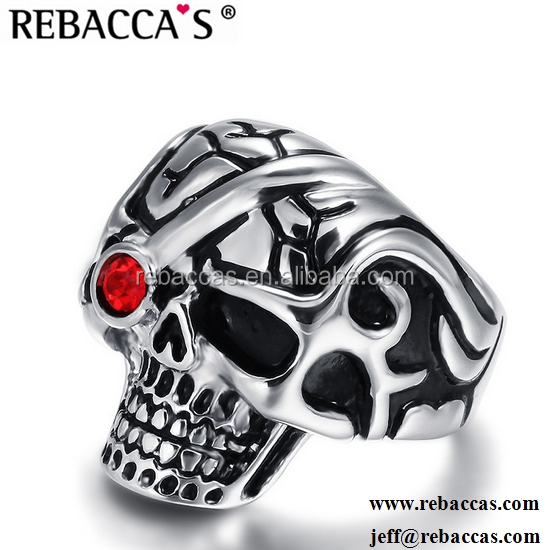 Stainless Steel Skull Fashion Jewelry Ring Mold
