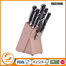 Chef Knife Set Cutlery 9 Pcs Stainless Steel Knife Set