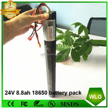 36v 24v 8.8ah 10ah 10.4ah li ion lithium electric scooter battery pack