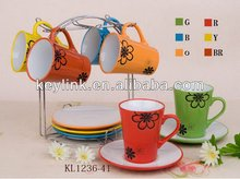 High quality antique coffee cups and tea sets