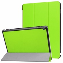 For Huawei MediaPad M3 lite 10 Covers Protective Protector Genuine Leather PU M3 Youth BAH-W09 BAH-AL00 Tablet case