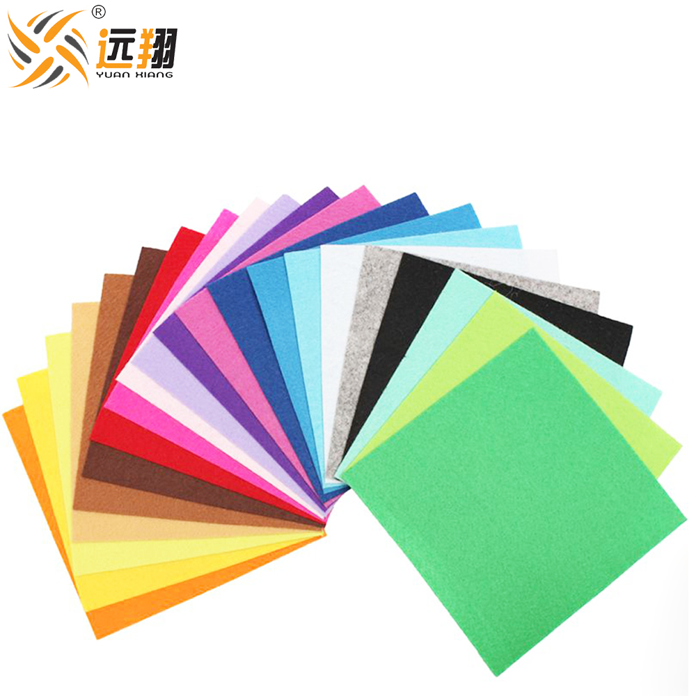 100% polyester needle punched nonwoven felt for Ghristmas handicraft