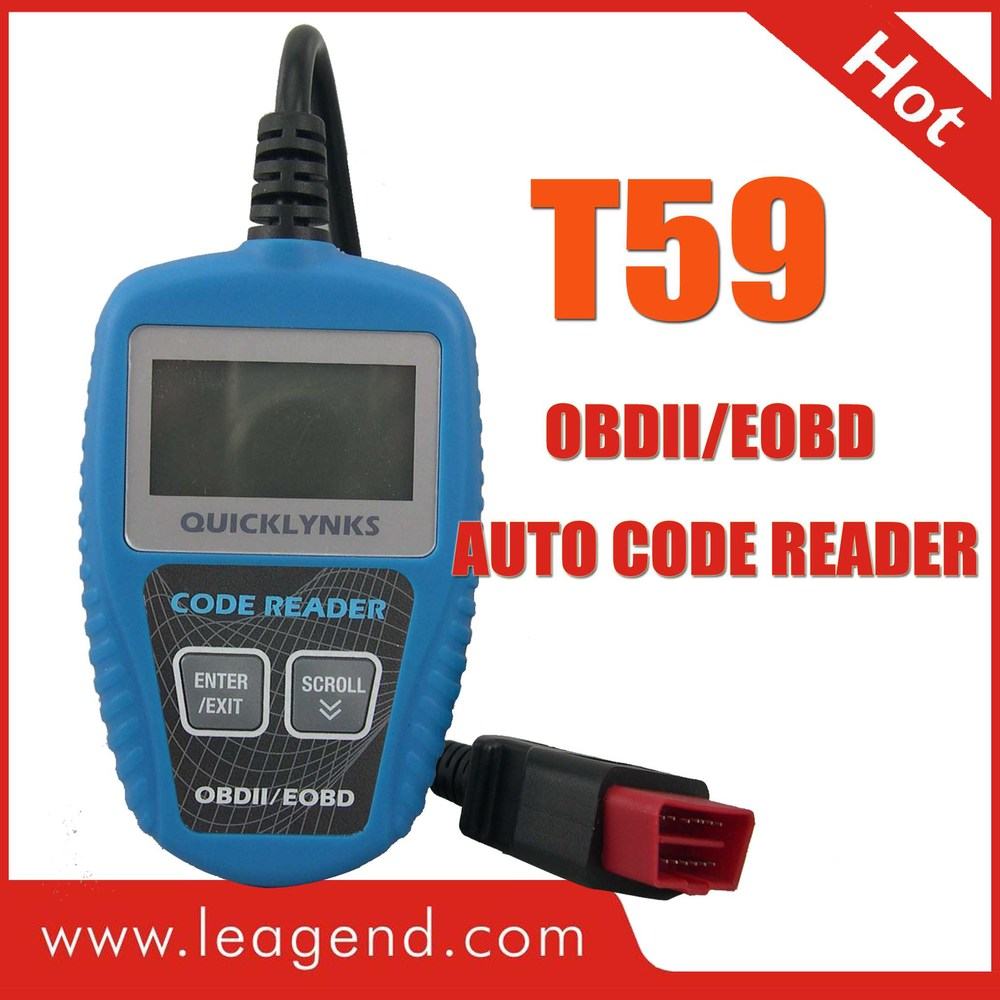 Check Engine Light car code reader for Korean car /OBD2 automatic transmission diagnostic tool T59 -free update ,multilingual