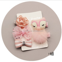 10pcs/lot Baby Girls <strong>Hair</strong> <strong>Accessories</strong> Set Gift Hairpins Crown Bowknot Children <strong>Hair</strong> Clips Q-2228