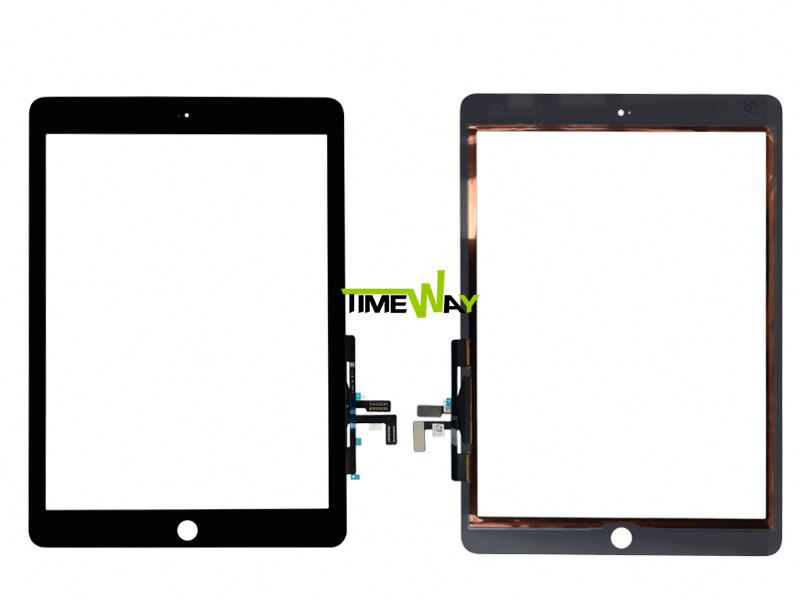 OEM LCD digitizer without home button for ipad 5 (blue) + Colorful Touch screen LCD digitizer for ipad 5