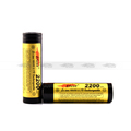 Efest 18650 2200mah high capacity 18650 IMR battery 3.7v flat top Efest 18650 unprotected
