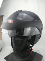 Double visor stylish motorcycle helmet half face helmet sj-216 for sale