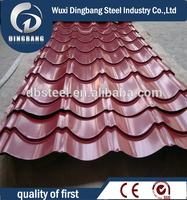 Material of 304 corrugated steel roofing sheet price per sheet