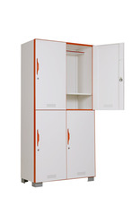 put bags and clothes stand feet office furniture metal steel locker