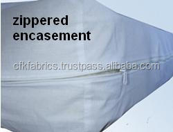 Box Spring Encasement of Mattress Cover