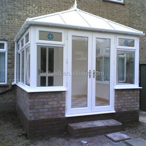 white color cheap price upvc window&door, single glazing bead windows