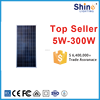 Full certified and high efficient solar system module poly 80w solar panel