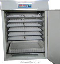 China Guangzhou 1000 Chicken Eggs Commercial Egg Incubator, Hot Selling Fully Automatic 1000 eggs Capacity Chicken Hatchery
