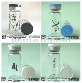 10ml glass bottle for powder,hgh medical supply
