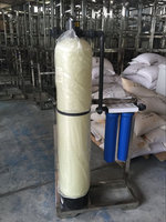 Sand filter & carbon pretreatment for well water / underground water filter system