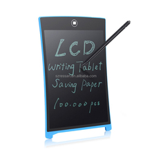 New 2017 promotion product lcd writing tablet drawing with 8.5 inch screen enamel writing board for kids at home
