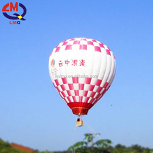 Rental inflatable advertisement hot air balloon for holiday